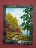 Картина из камня Осень