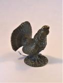 Глухарь, бронзовая миниатюра