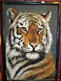 Картина из камня Тигр